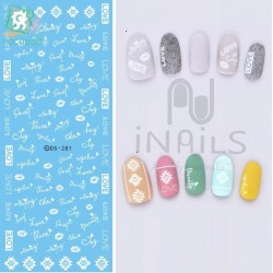 Nail sticker DS 281
