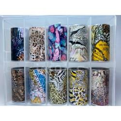 Kit foil Leopard