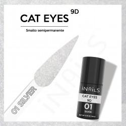 9D Cat Eyes 01 SILVER