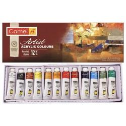 Set di colori acrilici, 12 colori