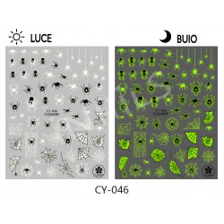 Nail stickers halloween CY046