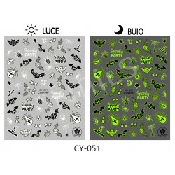 Nail stickers halloween CY051