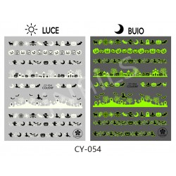 Nail stickers halloween CY054
